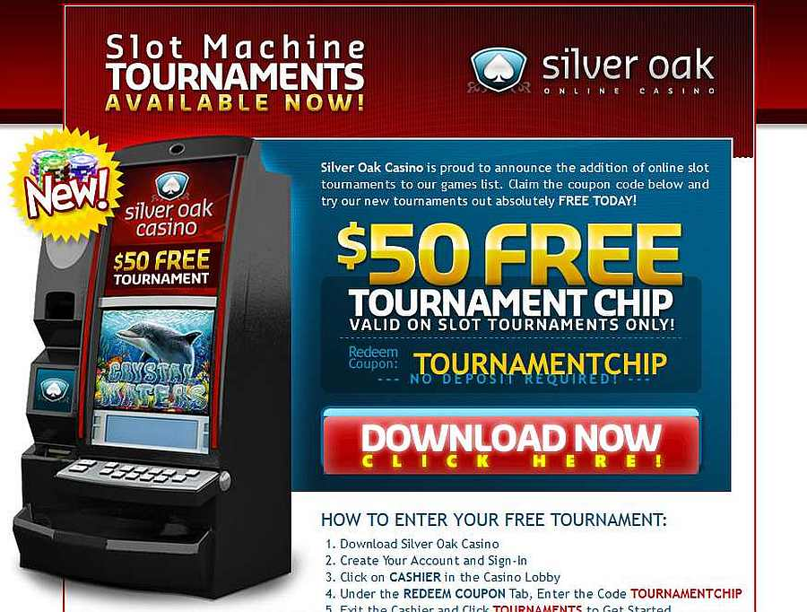 Silver oak casino $50 no deposit bonus wayne galloway procter and gamble