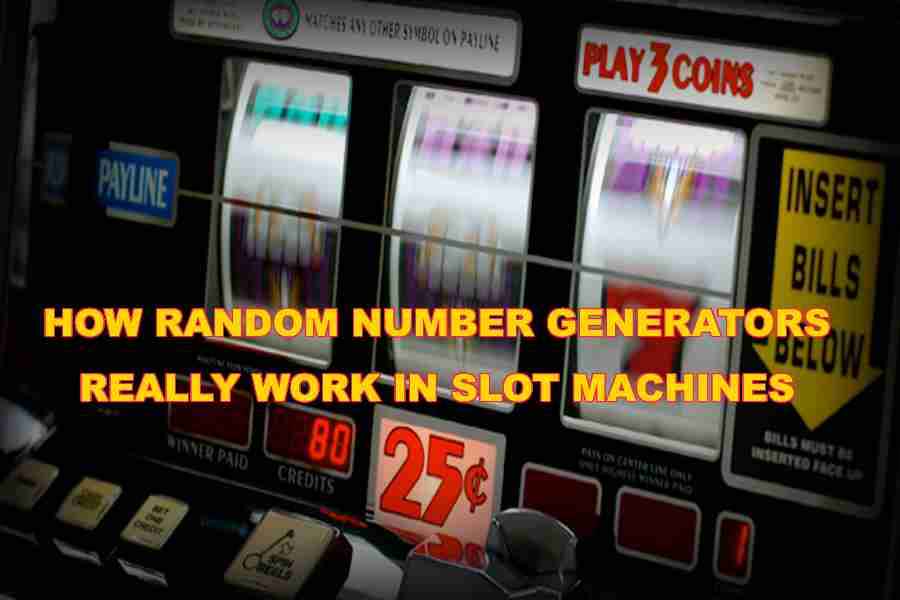 Random number generator used in slot machines russian roulette (novel)